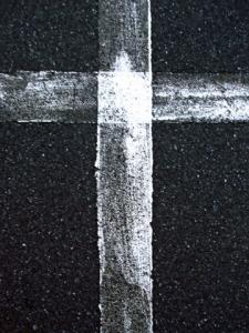 carpark cross (04 Feb 2011)