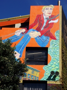 Museum Hotel mural (31 Mar 2011)