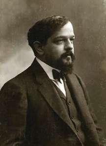 Claude Debussy (ca 1908, photo by Félix Nadar)