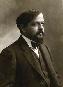 Claude Debussy (ca 1908, photo by Félix Nadar)