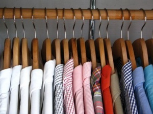 hangers, men's shirts